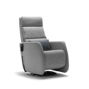 Grey Arc Action Chair