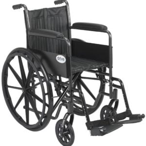 Drive silver sport wheelchair