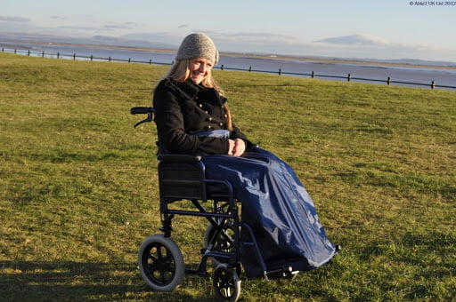 Lady in a Wheel Chair