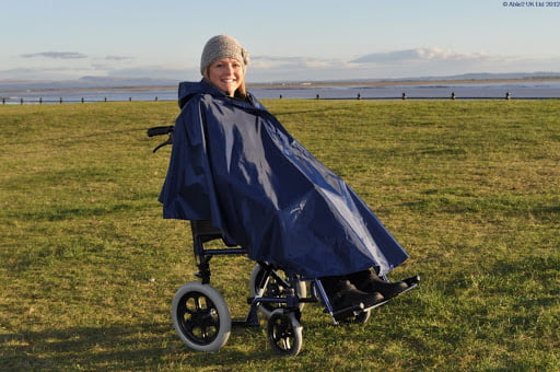 Wheelchair Poncho at Ability Store