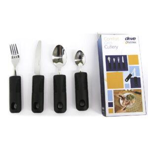 Comfort grip cutlery